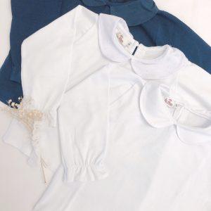 Remera algodón con cuello