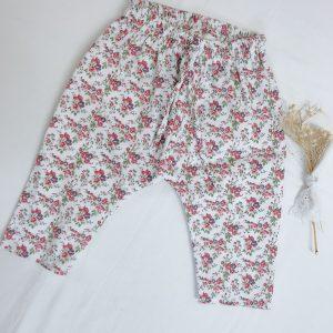 Pantalon Flores piquet
